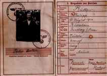 German military passport Wehrmacht