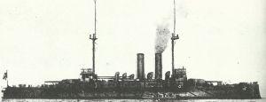 Japanese pre-Dreadnought 'Asahi'