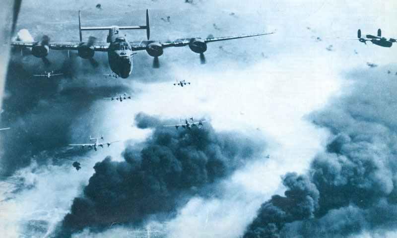 B-24 bombing Ploesti