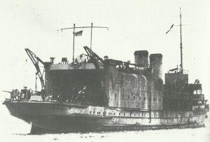Seaplane carrier Empress