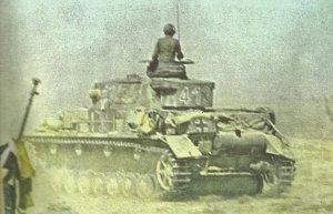 Panzer IV of DAK