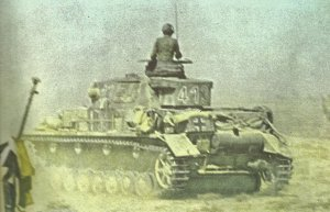 Panzer IV of DAK