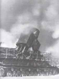 German super-heavy 60 cm mortar 'Thor'