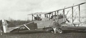 Airco DH-4 bomber