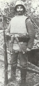 German infantryman of an assault unit