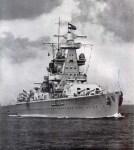cruiser 'Admiral Scheer'