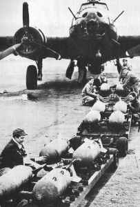 B-17 for the first US bombing raid