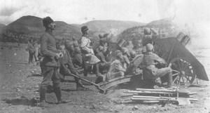 Turkish light artillery