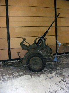 20mm Flak in Panzer Museum Munster (Germany).