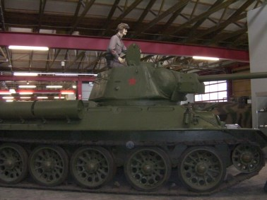 T-34 Model 1943 in Panzer Museum Munster, Germany