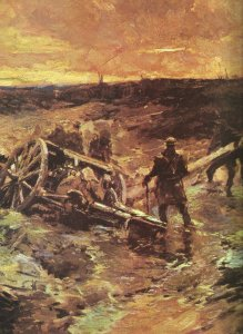 Canadian gunners at Passchendaele