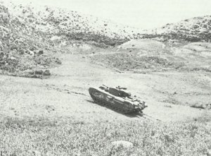 Churchill tank shows off its hill climbing ability