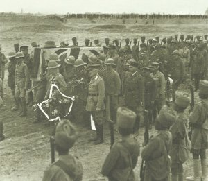 Burial of General Sir Frederick Maude at Baghdad