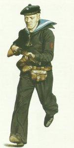 Seaman of Norwegian Navy, 1940.