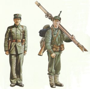 Lieutenant (left) and Corporal, Norwegian Army