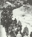 Column of Italian soldiers who had been captured
