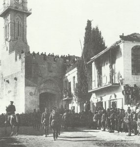 Allenby enters Jerusalem