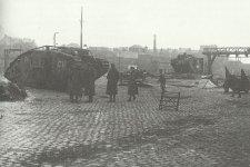 Captured British tanks Mark IV