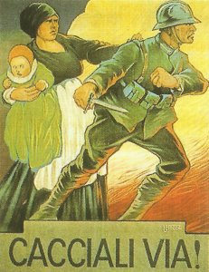 Italian propaganda after Caporetto