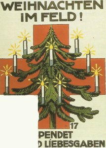 Christmas 1917 on the front