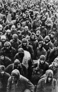 PoWs of the German 6th Army after the surrendering at Stalingrad.