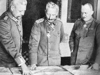 Hindenburg, Emperor Wilhelm II and Ludendorff