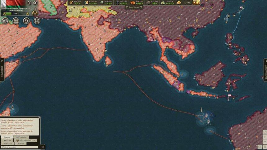 Day 65: Khabarovsk raid from China and Australia (dark violet).