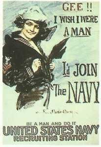 US Navy recruiting poster