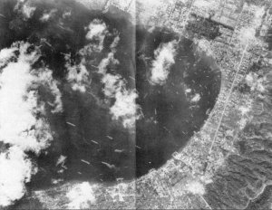 reconnaissance picture from Rabaul