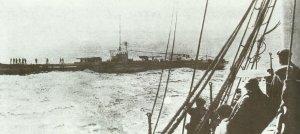 U-boat at sea