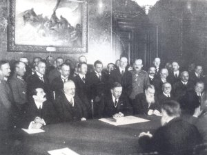 Signing of the Treaty of Bucharest