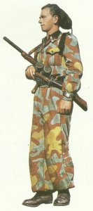 Italian militiaman of the fascist Legion Tagliamento