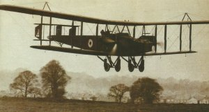 Handley Page bomber