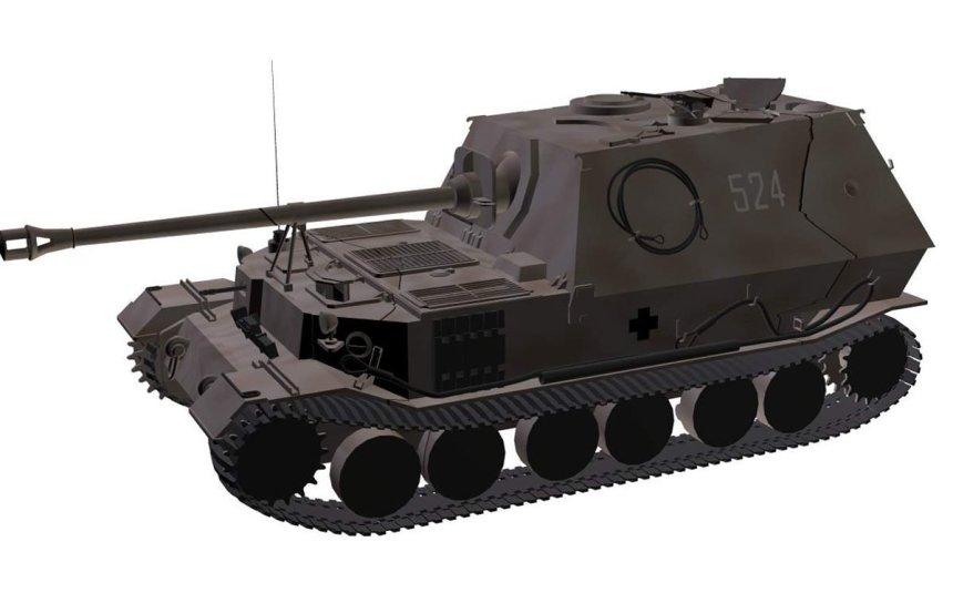 Heavy tank destroyer Elefant