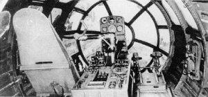 cockpit of a Me 264