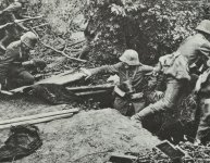 German paramedics in action
