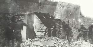 US troops open fire on a German sniper