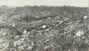 French soldiers in their trenches.