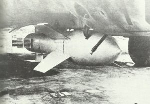Fritz-X armour piercing radio-guided bomb