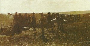 French battery firing their 75-mm mle 1897