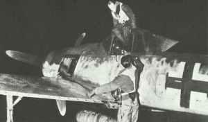Fw 190 'cat's eye' night fighter
