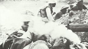 Vickers Gun shows its treacherous smoke