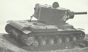KV-2 'Dreadnought', knocked-out