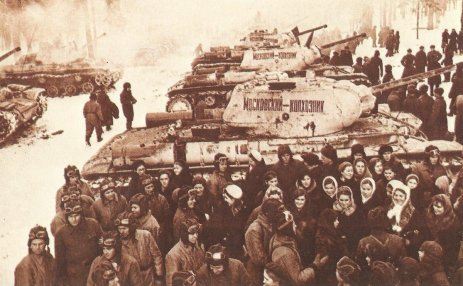 KV-1 donated by Russian inhabitants