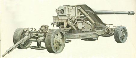 12.8-cm Pak 44K from Krupp