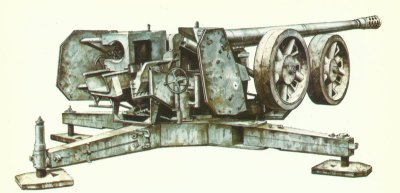 12.8-cm Pak 44 from Rheinmetall-Borsig