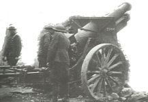 US 155 mm howitzer Maas-Argonnen