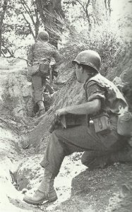 American soldiers  in southern Italy