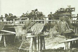 Retreat of German units