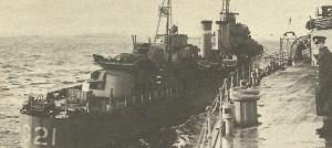 destroyer 'Punjab' is refuelled